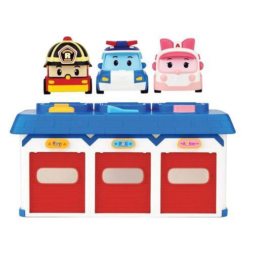 Robocar Poli波力救援小英雄寶寶救援中心