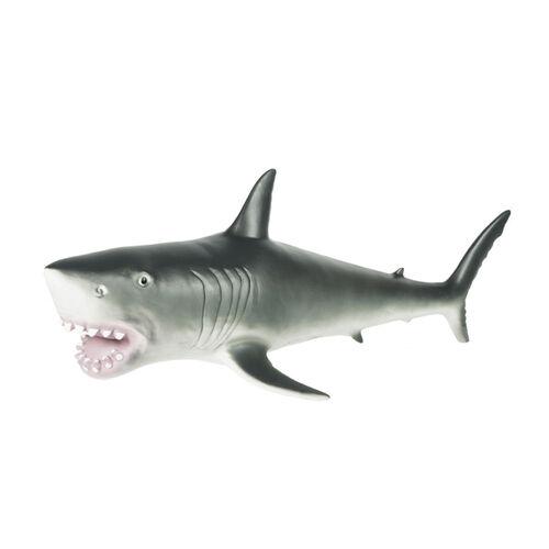 World Animal Collection 大型鯊魚軟膠