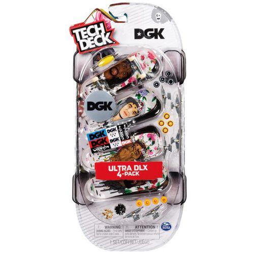 Tech Deck 手指板四入組 - 隨機發貨