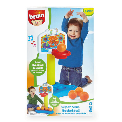 BRU Infant & Preschool 我的音效籃球機