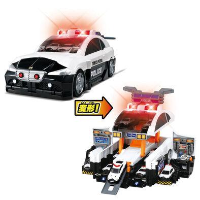 Tomica多美小汽車 巨大變形警察基地