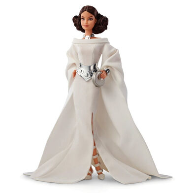 Barbie芭比 Barbie Star Wars Princesa Leia Doll