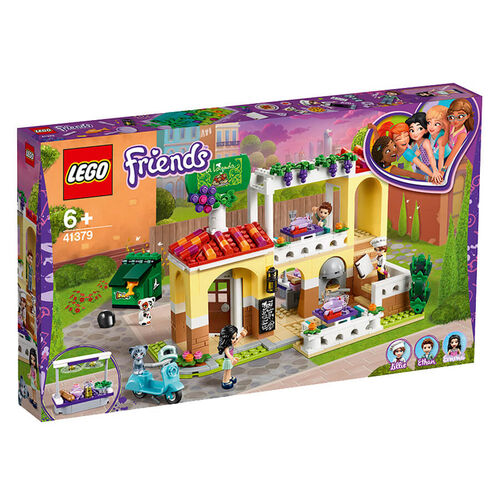 LEGO樂高好朋友系列 41379 心湖城餐廳 積木 玩具