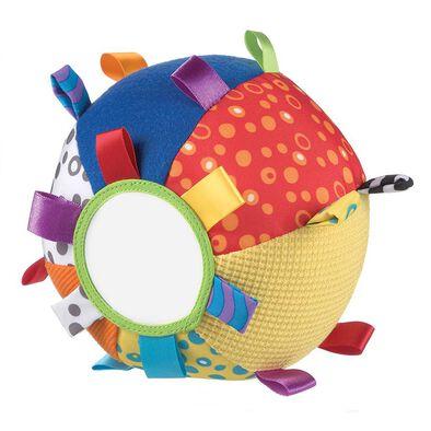 Playgro培高 鈴鐺布質小球