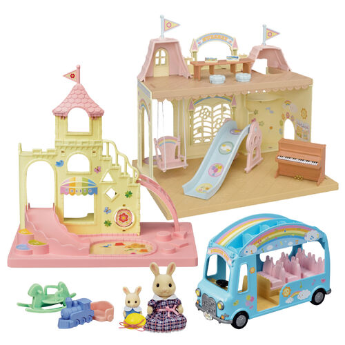 Sylvanian Families森林家族 城堡幼稚園豪華禮盒組