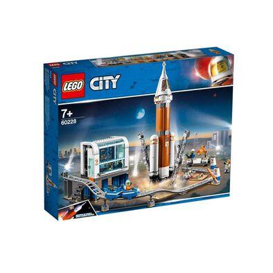 LEGO樂高城市系列 60228 重型火箭及發射控制 積木 玩具