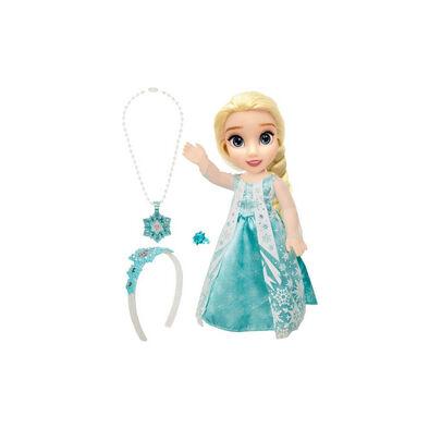 Disney Frozen迪士尼冰雪奇緣艾莎娃娃與首飾組