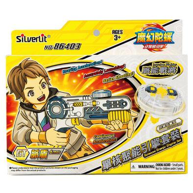 Spin Fighter魔幻陀螺 聚能引擎 單核脈盾x脈能戰將
