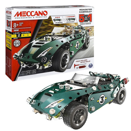 Meccano - 五合一回力車組