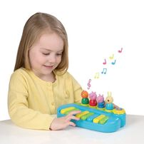 Peppa Pig粉紅豬小妹 Peppa Pig 公仔鋼琴組