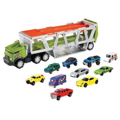 Matchbox火柴盒小汽車 運輸車 附小車