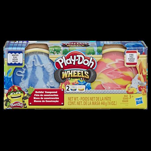 Play-Doh培樂多 車輪系列 材質黏土 - 隨機發貨