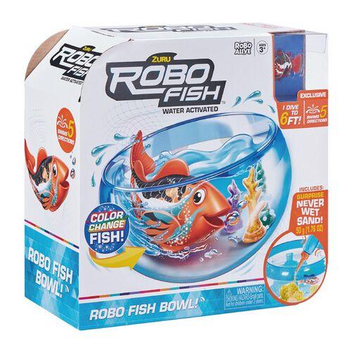 Zuru Robo Fish 隨行寵物魚 遊玩組 第一彈 - 隨機發貨