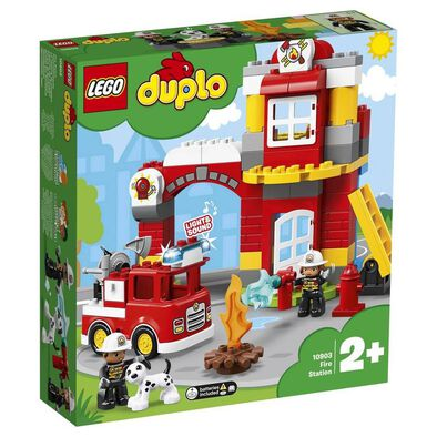 LEGO樂高得寶系列 10903 消防局 積木 玩具