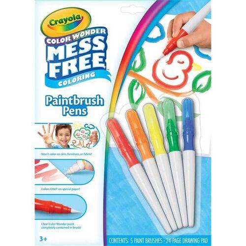 Crayola繪兒樂可水洗筆刷塗料