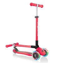Globber高樂寶 折疊滑板車 紅