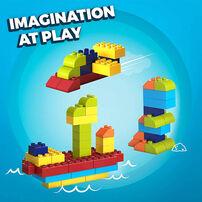 Mega Bloks美高積木 Junior Builders系列積木中型100片積木組