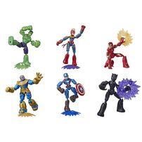 Marvel漫威 AvengersMarvel漫威復仇者聯盟 超可動系列英雄人物組 - 隨機發貨