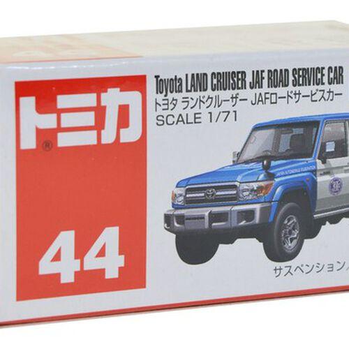 Tomica多美 No﹒44 Toyota Land Cruiser Jaf Road Service Car