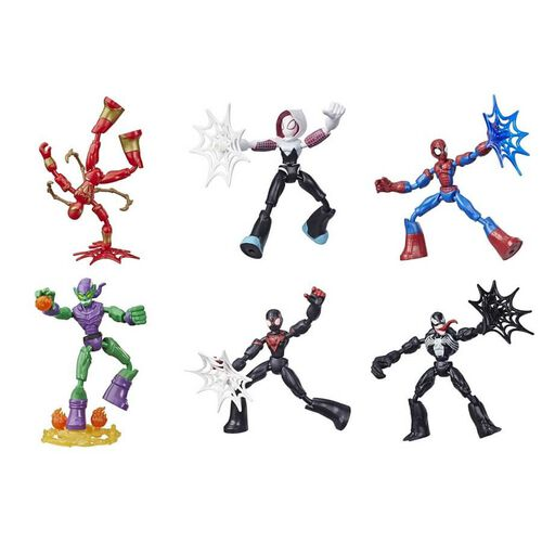 Marvel漫威 AvengersMarvel漫威復仇者聯盟 蜘蛛人Spiderman 超可動系列英雄人物 - 隨機發貨