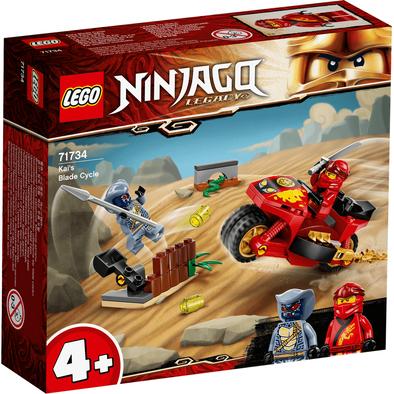 Lego樂高 71734 赤地的刀鋒轉輪車