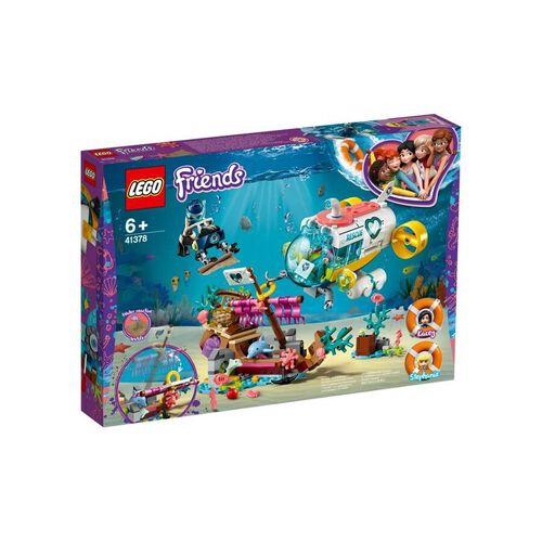LEGO樂高好朋友系列 41378 海豚救援任務 積木 玩具