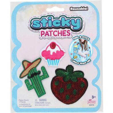 Sticky Patches黏黏補丁 DIY仙人掌紡織布貼