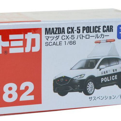 Tomica多美 No﹒82 Mazda Cx-5 Police Car