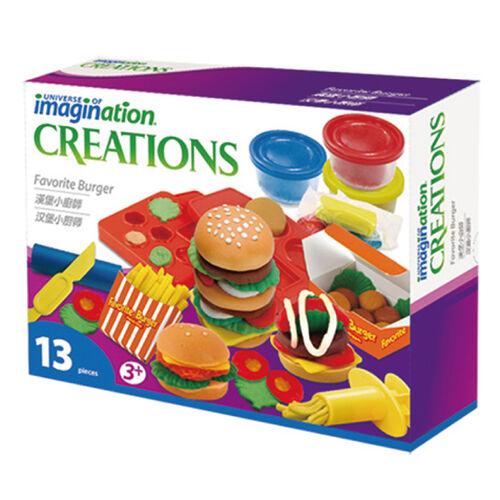 Universe of Imagination知識小宇宙漢堡小廚師黏土組