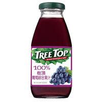 樹頂Tree Top 100%葡萄綜合果汁 300ML 玻璃瓶
