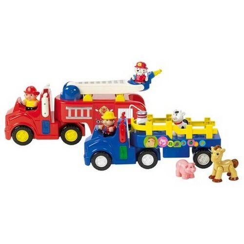 BRU Infant & Preschool 農場車/消防車