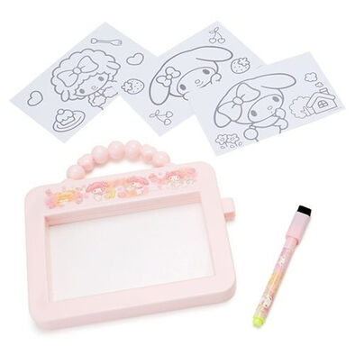 Hello Kitty凱蒂貓 玩具亮燈繪圖板-美樂蒂