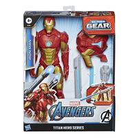 Marvel漫威復仇者聯盟泰坦英雄發射配件組 鋼鐵人