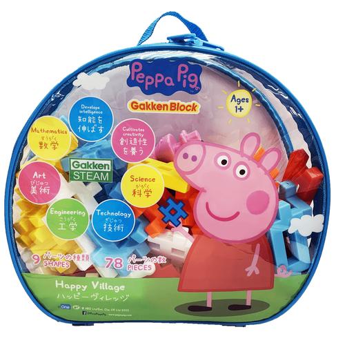 Peppa Pig粉紅豬小妹積木快樂村