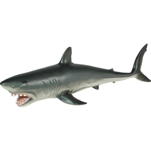 Animal Zone動物叢林 塑膠大型鯊魚玩具