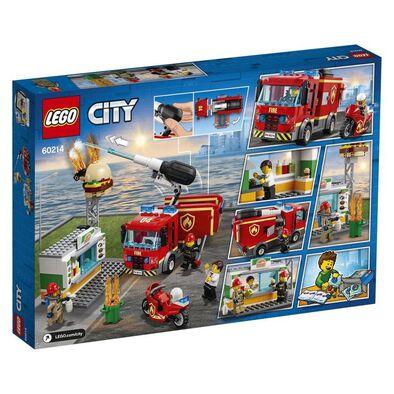 LEGO樂高 60214 漢堡餐廳火災救援