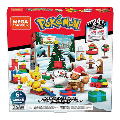 Mega Bloks美高積木 創建寵物小精靈假日倒數月曆