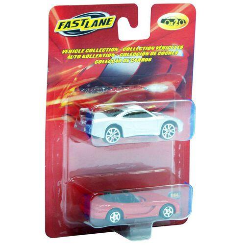 Fast Lane極速快線 2入合金車 - 隨機發貨
