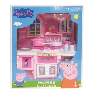 Peppa Pig粉紅豬小妹peppa Pig 佩佩豬迷你廚房玩具