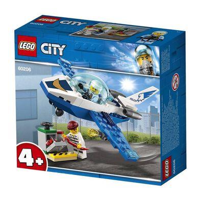 LEGO樂高城市系列 60206 航警巡邏機 積木 玩具