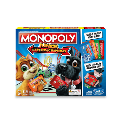Monopoly地產大亨入門電子銀行版