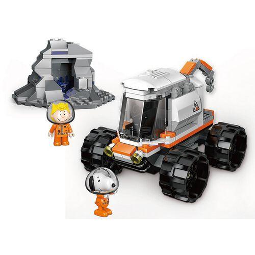 Banbao邦寶 史努比70周年太空系列-基地探測車 LN8018