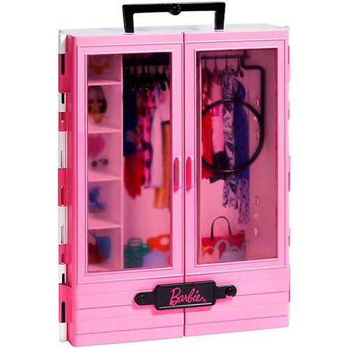 Barbie芭比閃亮造型衣櫃(含娃娃)