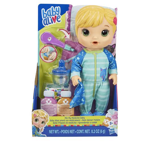 Baby Alive淘氣寶貝 吃藥藥娃娃