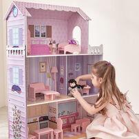 Teamson 夢幻豪華蒂芬妮奇境芭比娃娃屋(13件組)
