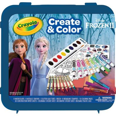 Crayola繪兒樂Disney Frozen迪士尼冰雪奇緣超值繪畫組