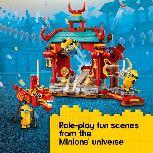 LEGO樂高 迷你兵團系列 Minions Kung Fu Battle 75550