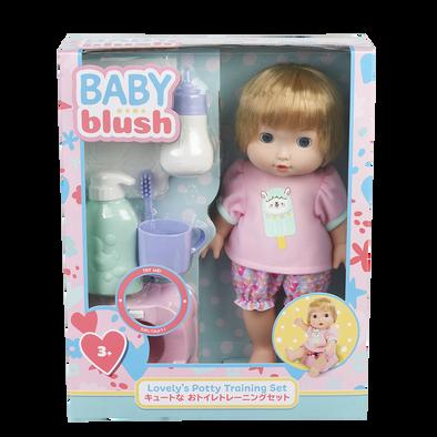Baby Blush音效馬桶娃娃配件組
