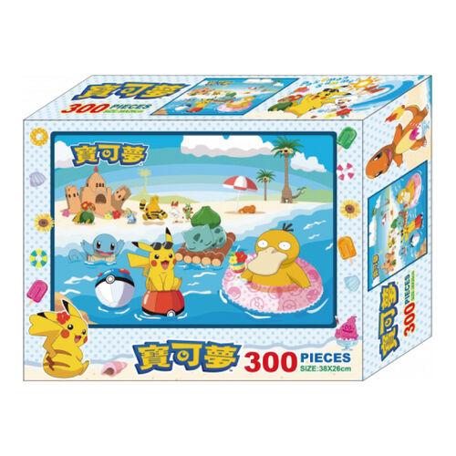 Pokemon寶可夢 300片盒裝拼圖(E)