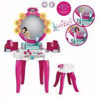 Barbie芭比時尚聲光化妝桌椅組